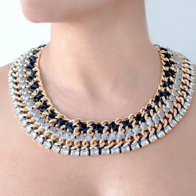 Collar Gray Duquese