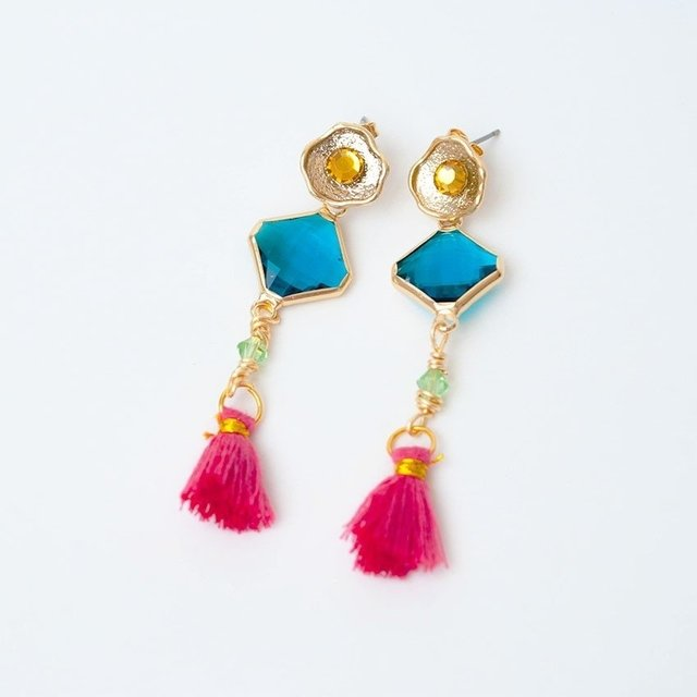 Aretes Yellow Lime - comprar online