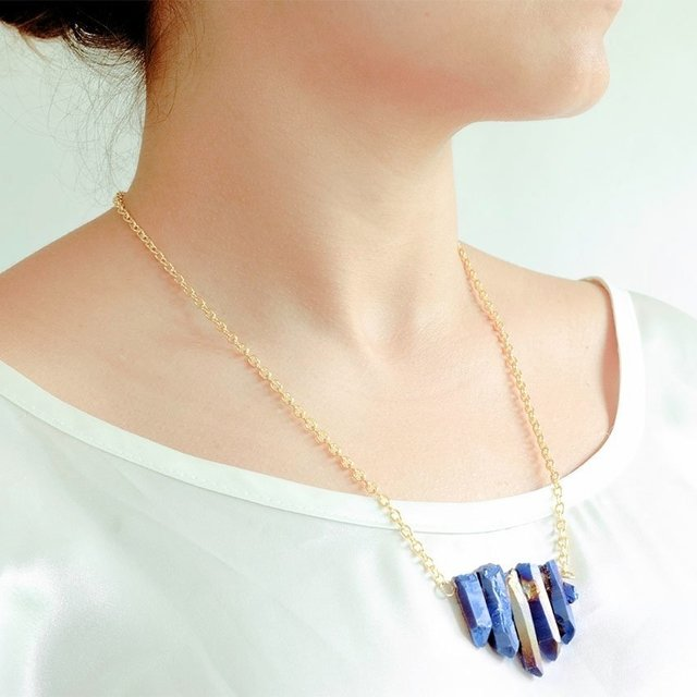 Collar Blue Piano