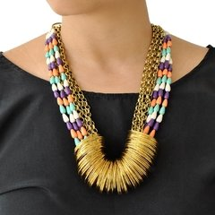 Collar Gold RainBow - comprar online