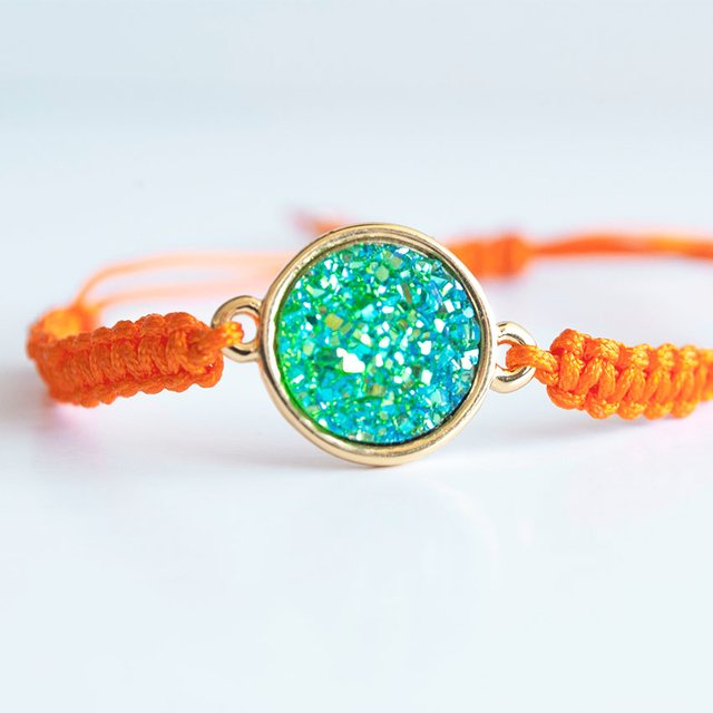 Pulsera Orange Sparkles en internet
