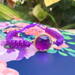 Pulsera Purple Wire en internet