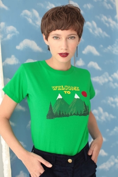 Camiseta Welcome to Twin Peaks