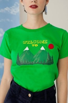 Camiseta Welcome to Twin Peaks - comprar online
