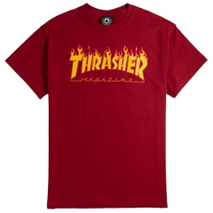 Thrasher Flame Tee (R) - comprar online