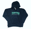 Hoodie Thrasher Outlined (B/G)