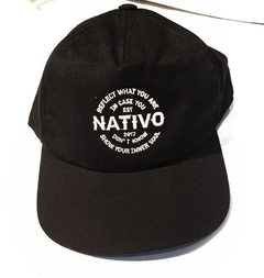 Cap black Nativo