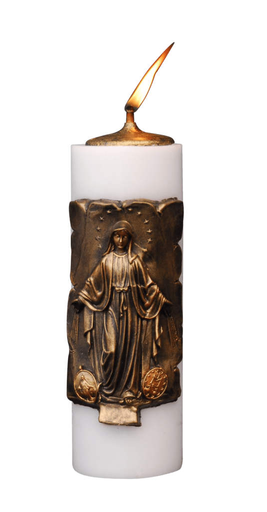 VELON MECHERO VIRGEN MILAGROSA 10X30