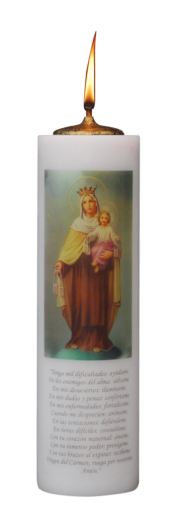 VELON MECHERO VIRGEN DEL CARMEN11X38