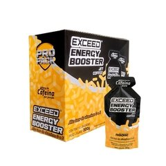Exceed EnergyBooster Shot Display com 10 sachês 30g