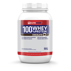 Nutrisport 100% Whey Protein Pote 900g Sabor Chocolate