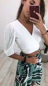 Cropped Princesa White
