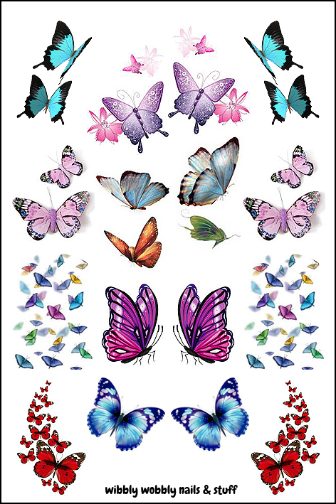 DN7 DECALT MARIPOSAS