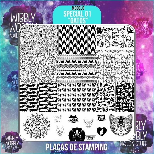 PLACA N9 STAMPING GATOS