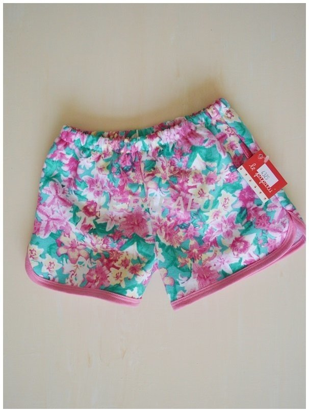 SHORT ESTAMPADO ALGODON LE PAPALU