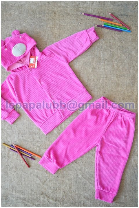CONJUNTO CAMPERA Y PANTALON PLUSH ART. 4270