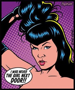 Sticker Bettie Page
