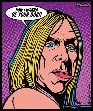 Sticker Iggy Pop