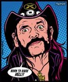Sticker Lemmy Kilmister