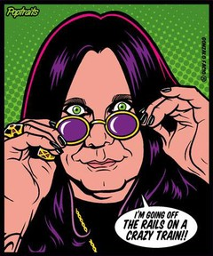 Sticker Ozzy Osbourne