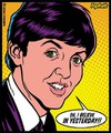 Sticker Paul McCartney