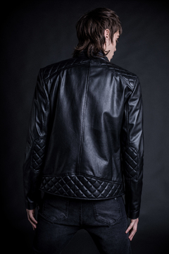 Jacket Leather Motorocker - tienda online
