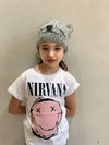 NIRVANA CRAZY FACE PINK - KIDS GIRLS