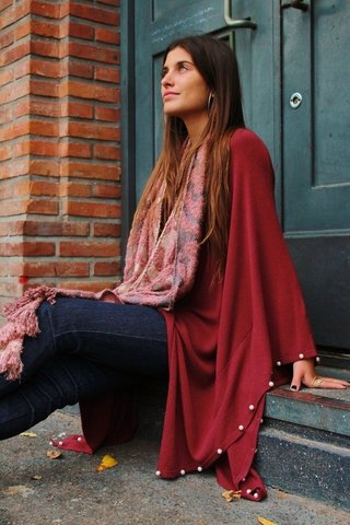 18 1324A- PONCHO LIGHT PERLAS