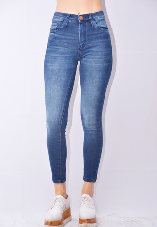 Jean Skinny Blue Woman Art I17R2532A
