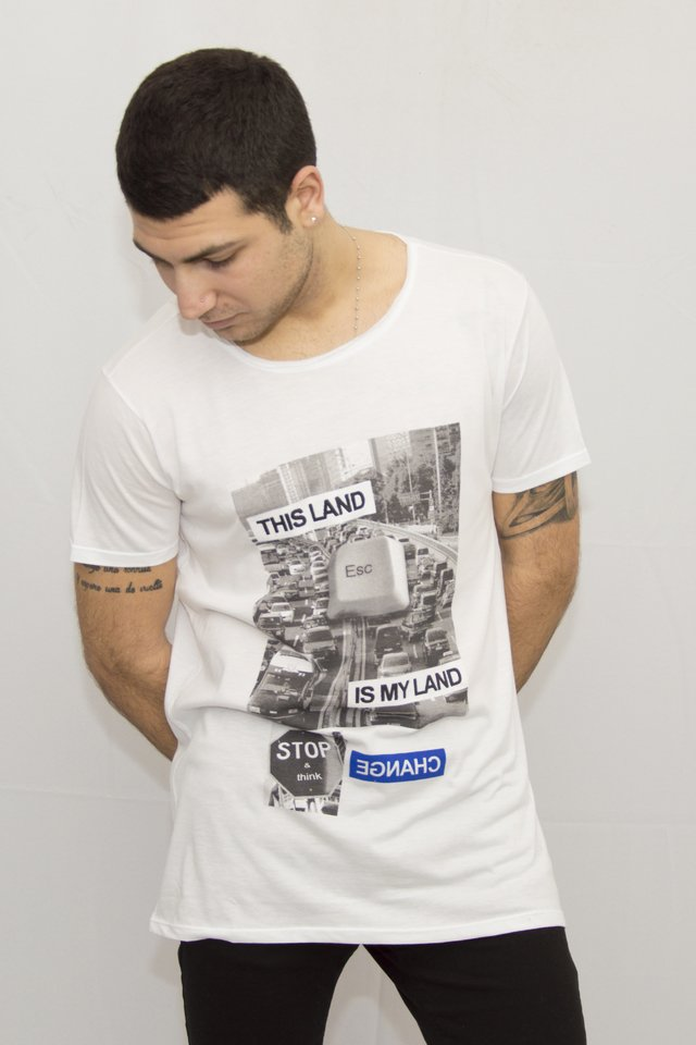 Remera Land Art V181074