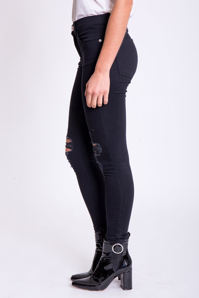 Jean Broken Black Demon - comprar online