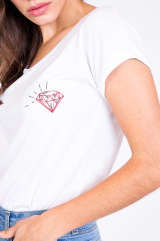 REMERA DIAMONDS - Vete al Diablo