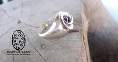 Anillo tipo Sello Rose