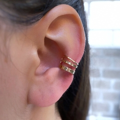 RESET BUTTON EAR CUFF (X1 A PRESIÓN)