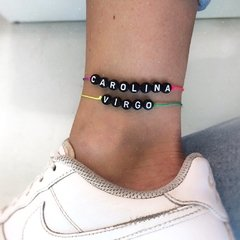 CUSTOM DARK CANDY BRACELET / ANKLET (personalizable