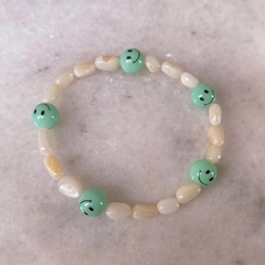 PULSERA DARIA VERDE AGUA - JUST LIKE A CHILD COLLECTION
