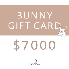 BUNNY GIFT CARD $7000
