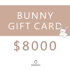 BUNNY GIFT CARD $8000