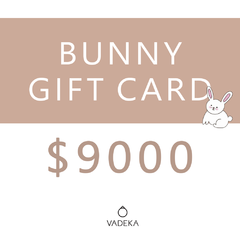 BUNNY GIFT CARD $9000
