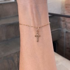 PULSERA TINY CROSS