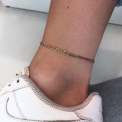 GUILTY AS CHARGED GOLD ANKLET - comprar online