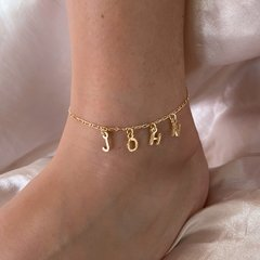 YOU NAME IT ANKLET