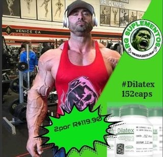 2 POTES DILATEX-POWER SUPPLEMENTS