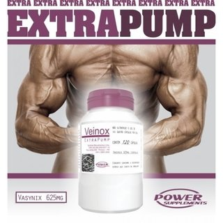 VEINOX EXTRA PUMP 120CAPS - POWER SUPPLEMENTS