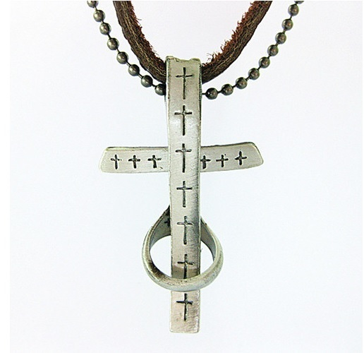 Colar Vintage Artesanato Masculino ~ Colar Masculino Crucifixo Vintage u2014 Dáli Acessórios Feminino, Masculino e Infantil