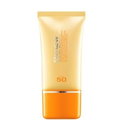 Avon Renew Solar Advance Ultra Matte Protetor Solar Anti-Idade FPUVA 17,6 UVA/UVB FPS 50 50ml