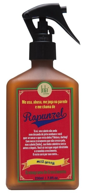 Lola Milk Spray Lola Rapunzel 230ml - Cronograma do Crescimento