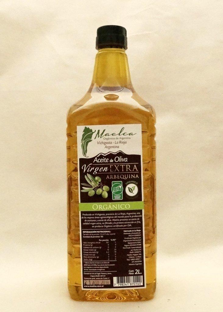 Aceite de Oliva Orgánico ´´Maelca´´