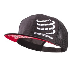 BONÉ TRUCKER CAP COMPRESSPORT - PRETO