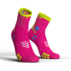 MEIA COMPRESSPORT PRO RACING SOCKS V3.0 RUN ROSA